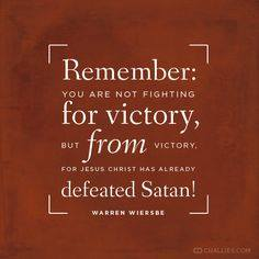 So, Is The Devil Defeated?